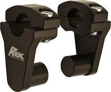 Rox Speed FX - 1R-P2SEK - Elite Series Pivot Handlebar Riser, 2in. - Black`