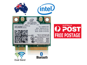 Dual Band network card Intel 7260ac 867Mbps 802.11ac 2.4/5GHz Bluetooth 4.0 PCIe