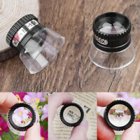 15x Magnifying Glass Eye Loupes Loop Optical Magnifier Jewelry Watch Repair Tool