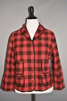 DENIM & SUPPLY RALPH LAUREN NEW $165 Red Black Buffalo Plaid Jacket XL