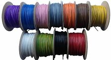 50 m Noir Tri Rated 30Amp 2.5 mm AUTOMOBILE AUTO Câble Wire Wiring Loom Marine CA