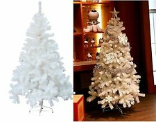 6Ft Christmas Tree White With Metal Stand Pine Tips Xmas Party Home Decor