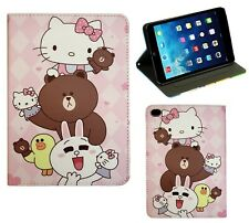 For Apple iPad Mini 1 2 3 4 Hello Kitty New Smart Cartoon Stand Case Cover