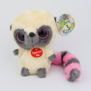 Aurora Yoohoo & Friends Plush Toy Lemur Pink Yoohoo w/ Sound - NWT
