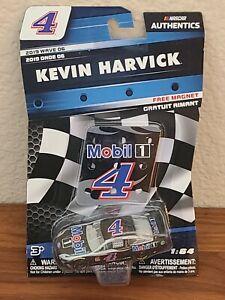 2019 Wave 6 Kevin Harvick Mobil 1 1/64 NASCAR Authentics Diecast