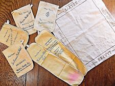 Shoe Shine and Polishing Cloths Hotels Selvyt set of 7 Vintage Collectible