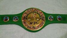WBC Boxing Championship Wrestling Belt 2mm Brass Plate