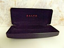 Ralph Lauren Black Hard Shell Eye/SunGlass Case