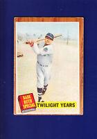 Babe Ruth Special HOF 1962 Topps Baseball #141 (VG+) Twilight Years