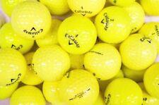 3 Dozen Callaway Yellow Assorted Mint / AAAAA Recycled Used Golf Balls