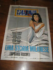 MANIFESTO,UNA STORIA MILANESE,ERIPRANDO VISCONTI,1962,Morlacchi,Valli,Olmi,Brini