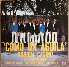 """SONORA CASINO DE LUIS ARENAS COMO UN AGUILA MEXICAN 7"""" EP PS"""
