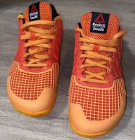 REEBOK CROSSFIT Mens CF 74  Athletic Training Shoes  #023501 Size 10 Orange