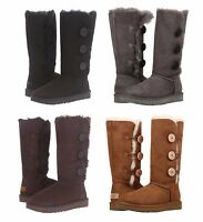 NEW Authentic UGG Women's Tall Bailey Button Triplet II Boots Shoes