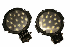 51W Spot / Fog lights Car Van Truck Off Road 4x4 Heavy Duty Good Quality - PAIR