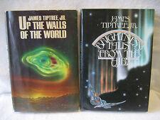 James Tiptree Jr vintage book lot WALLS OF THE WORLD Brightness Falls sci-fi HC