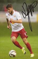 Red Bull Salzbourg: Marco Djuricin signé d'action 6x4 PHOTO + COA