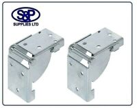 Folding Table Leg Bracket 38MM X 38MM  in qtys of 1, 2, or 4 Hafele, Like Sotech