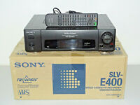 Sony SLV-E400 VHS-Videorecorder in OVP, w.NEU 2 Jahre Garantie