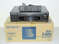 Sony slv-e400 VHS-videoregistratore in OVP, W. NUOVO 2 ANNI GARANZIA