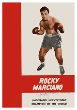 Rocky Marciano  **LARGE POSTER**  Boxing LEGEND - Undefeated Heavyweight Champ