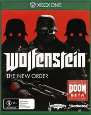 Wolfenstein The New Order  - Xbox One game - BRAND NEW