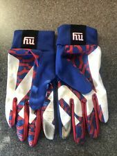 New listing NIKE NFL NY Giants Receiver Trainer Warm up Gloves Size Large