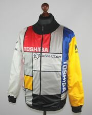 Vintage 1987 Toshiba La Vie Claire cycling jacket Size 5