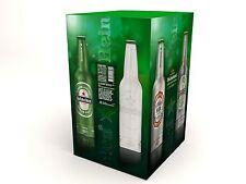 Heineken:Bottiglie Gift boz di 4 bottiglie alluminio:Amsterdam 1873..Ecc:Leggi