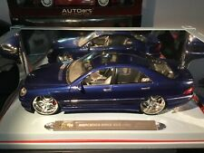 MERCEDES BENZ S55 AMG PLAYERZ 1:18  NEW $115.00+Shipping