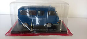 collection TEST gendarmerie  RENAULT Estafette 800  microcar BT 1973  ech 1/24