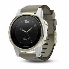 Garmin fēnix 5S Plus Sapphire 42 mm Champagne/White GPS Multisport Running Watch