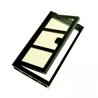 1 x Lego System Tür Rahmen schwarz 1x4x6 3 Felder Scheibe Flügel Glas transparen
