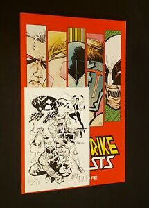SIGNED BLOODSTRIKE: BRUTALISTS MICHEL FIFFE TPB EXCLUSIVE LIMITED EDITION 20/75