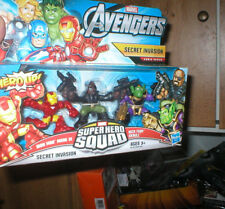 MARVEL SUPER HERO SQUAD SECRET INVASION- IRON MAN MARK VI, SKRULL AND NICK FURY
