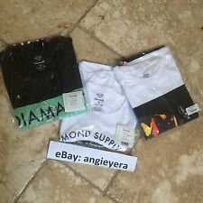 Lot of Three (3) Assorted Diamond Supply Co. Shirts Size XL HUF X-large
