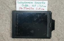 Planfilmhalter für Planfilm 6x9  für Plattenkamera-Kassetten 7,5 x 10,5 cm
