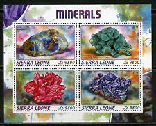 SIERRA LEONE  2018  MINERALS  SHEET   MINT NH