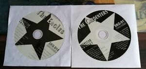 2 CDG DISCS 1970'S KARAOKE ROCK OLDIES HITS OF THE CARPENTERS AND EAGLES CD+G