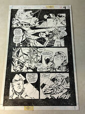 YOUNG JUSTICE original art, ARROWETTE, ROBIN, ROCK'EM SOCK'EM ROBOTS, 1999