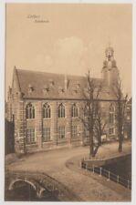 Netherlands postcard - Leiden, Academie (A27)