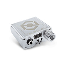 Nemesis Professional Tattoo Power Supply in Silver by Kwadron