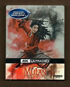 Mulan - 4K UHD + 2D - Blu-ray Steelbook - New/Sealed