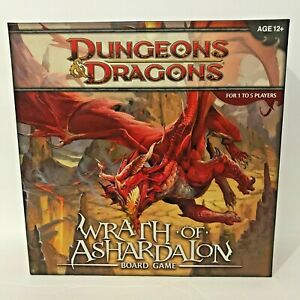 Dungeons & Dragons Board Game Wrath of Ashardalon Solo Co-op  Role Play