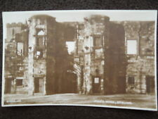OLD SEPIA POSTCARD OF MAR'S WARK, STIRLING