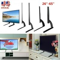 "Universal TV Stand Base Mount for 27""- 65"" for Samsung LG Vizio Sony Flat"