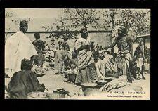West Africa France Senegal DAKAR Market 1918 PPC