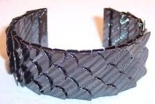 NEW Jewelmint Black Swan Cuff Bracelet, Hematite, VHTF!