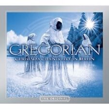 "GREGORIAN ""CHRISTMAS CHANTS - LIVE IN BERLIN"" CD NEW+"