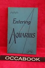 Entering Aquarius - Michael J. Eastcott, Nancy Magor 1973 | book | livre anglais